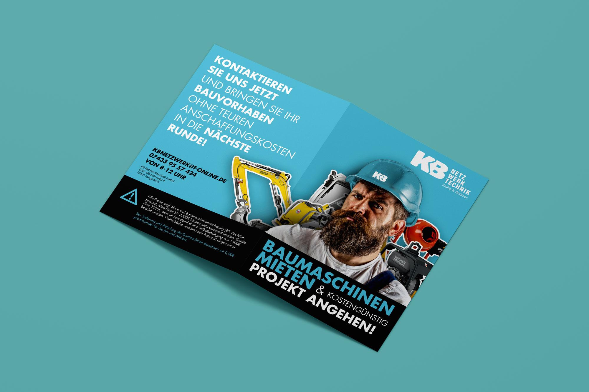 Gestaltung Flyer DIN A4